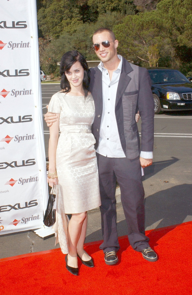 Katy Perry and Rob Williams arrive at Step-Up Women's Network's Fourth Annual Fashion Forward Luncheon