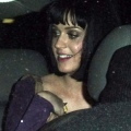 凯蒂·佩芮在Les Deux餐厅用餐后坐车离开 - 2009年3月18日