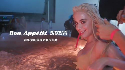 Bon Appétit 音乐录影带幕后制作花絮