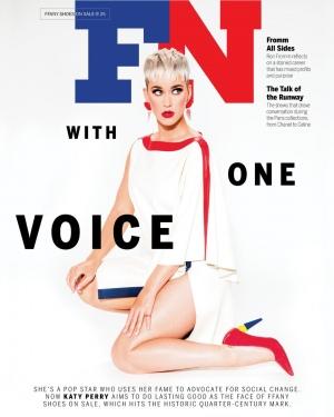 Katy Perry 谈论鞋子、家庭还有对抗乳腺癌