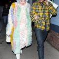 Katy Perry 和 Orlando Bloom 在阿斯潘外出晚餐