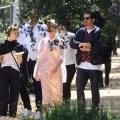 Katy Perry 和 Orlando Bloom 参加Kanye West的礼拜