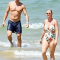 Katy Perry 和 Orlando Bloom 在法国小岛上度假