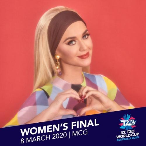 Katy Perry 即将在ICC T20世界杯女子决赛上演出