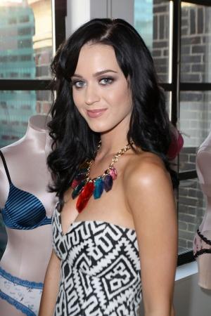 Katy Perry 参加维多利亚的秘密内衣时装周套房展览