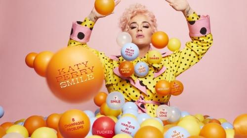 Katy Perry 正式公布新专辑「Smile」的曲目