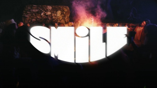 Smile 专辑宣传广告