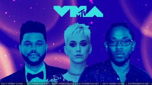 Katy Perry 入围提名5项 VMA 2017