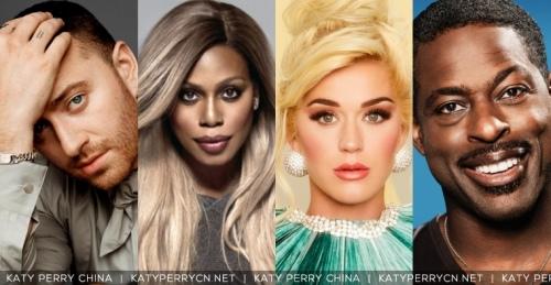 凯蒂·佩芮(Katy Perry)将加入第32届GLAAD媒体奖颁奖典礼