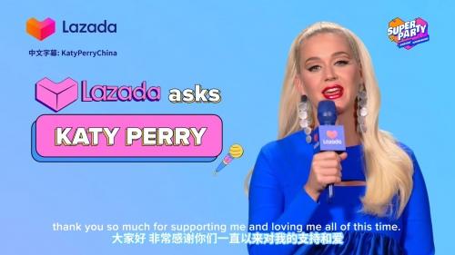 Lazada:Katy Perry的独家专访