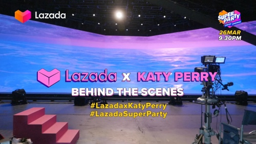 Lazada Super Party x Katy Perry 幕后制作花絮