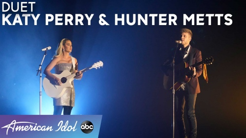 Katy Perry & Hunter Metts - Thinking Of You (American Idol 2021 现场)