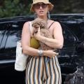 Katy Perry带着女儿去圣巴巴拉海滩 - 2021年8月31日