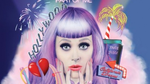 Katy Perry: Part of Me - DVD 蓝光 封面
