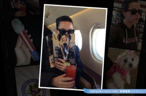 Katy Perry的总统就职典礼照片日记