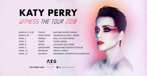 Katy Perry Wintess : The Tour Asia