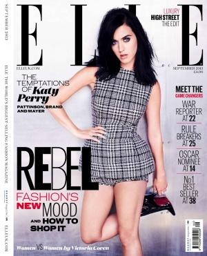 ELLE 英国版 2013年9月号 杂志图+硬照