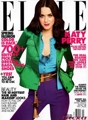 Elle Magazine March 2011