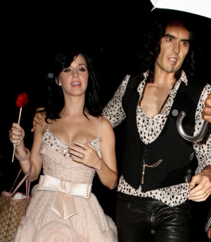 Katy Perry Russell Brand 到达入住的酒店