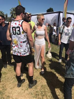 Katy Perry 在Coachella 音乐节上的私人派对