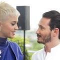 高级甜品师Cédric Grolet 和 Katy Perry在Meurice酒店合照