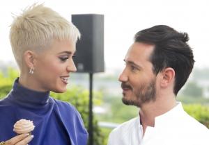 高级甜品师Cédric Grolet和 Katy Perry在Meurice酒店