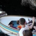 在意大利卡普里岛的Grotta Azzurra度假