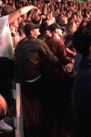 Katy Perry 和 Orlando Bloom 一起看Ed Sheeran的演唱会