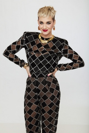 《美国偶像》评委 Katy Perry 个人宣传照