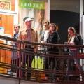 Katy Perry 和 Karlie Kloss , Derek Blasberg 一起外出晚餐