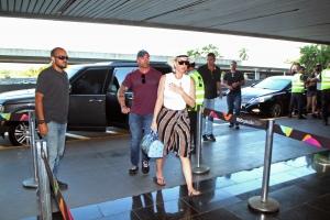在里约热内卢 加利昂国际机场  离开里约