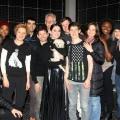 Katy Perry 访问 《深夜小狗离奇事件》 剧组