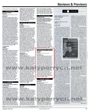 Billboard 杂志 2001年 6月号