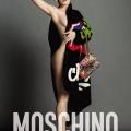 Moschino 代言 宣传照